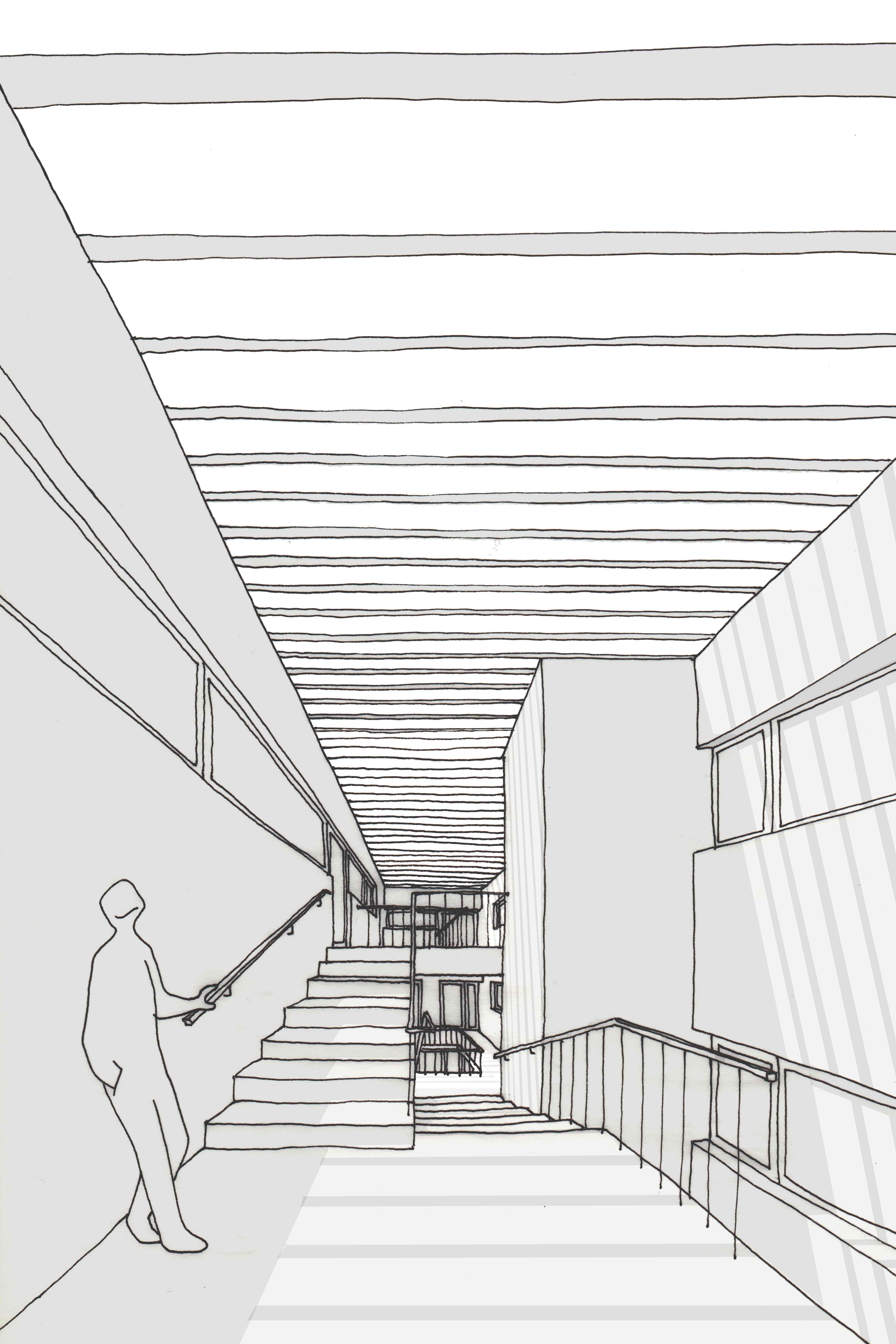patio-escalera-edificio-porto-moana-arquitecto | Rodrigo Currás ...