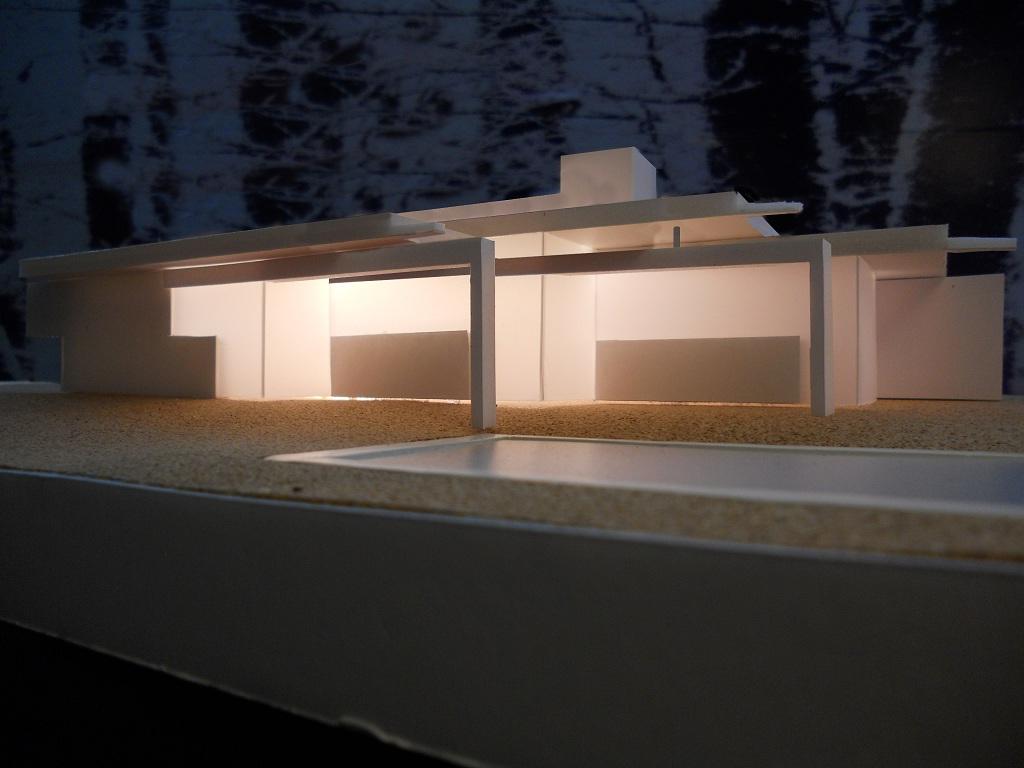 Modificado del proyecto de vivienda unifamiliar cerca del - Estudios de arquitectura vigo ...